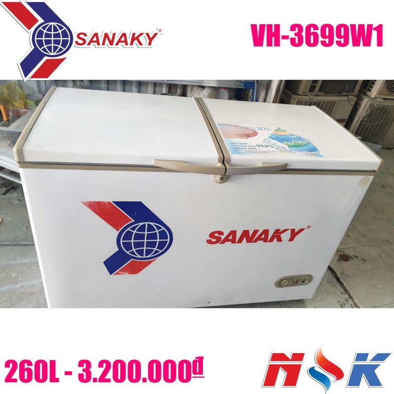 Tủ đông Sanaky VH-3699W1 260 lít