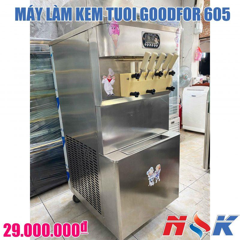 Máy làm kem tươi Goodfor 605