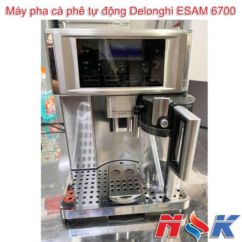 Máy pha cà phê tự động Delonghi ESAM 6700