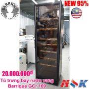 Tủ mát trưng bày Barrique GCr 169