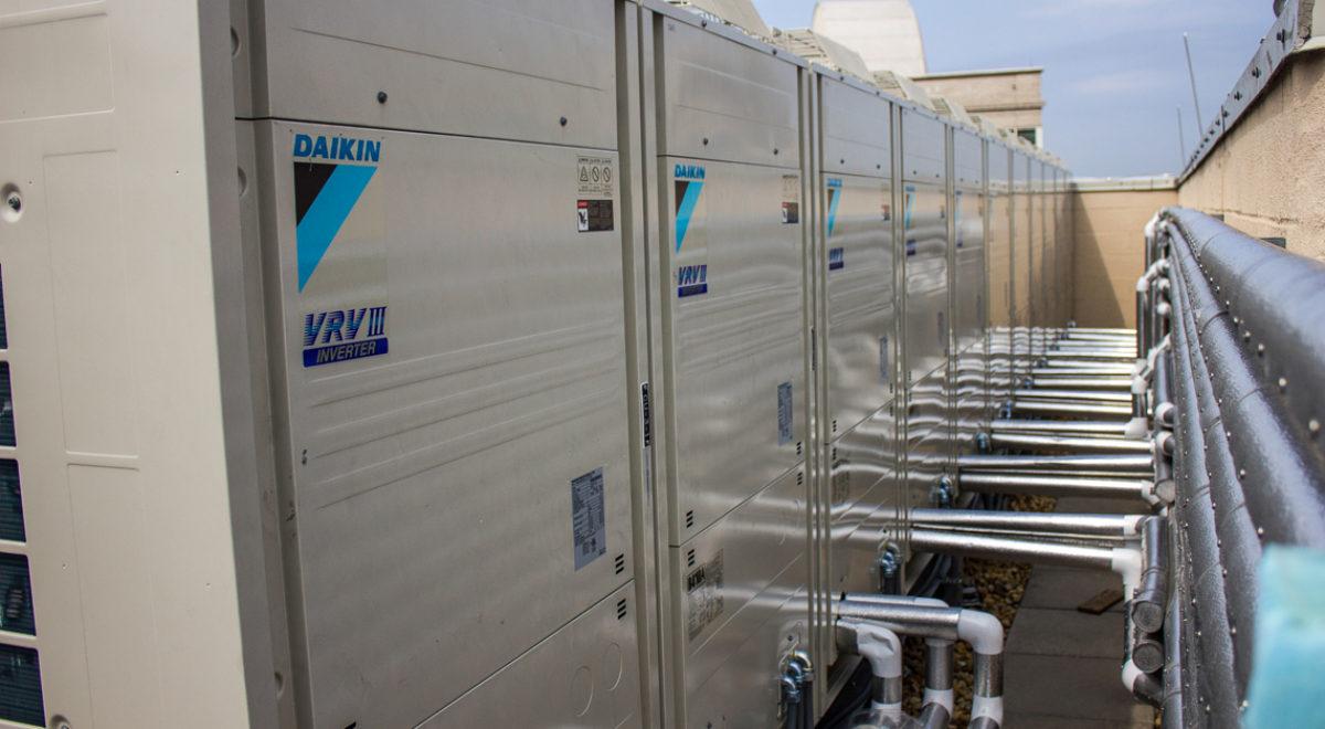 Bảo trì, sửa chữa máy lạnh trung tâm