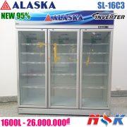 Tủ mát 3 cánh Alaska SL-16C3 1600 lít