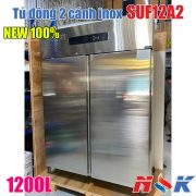 Tủ đông 2 cánh inox SUF12A2 1200 lít