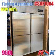 Tủ đông 4 cánh inox CSUF10A4 950 lít