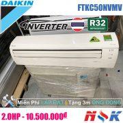 Máy lạnh Daikin Inverter FTKC50NVMV 2.0HP