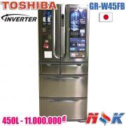 Tủ lạnh Toshiba Inverter GR-W45FB 450 lít