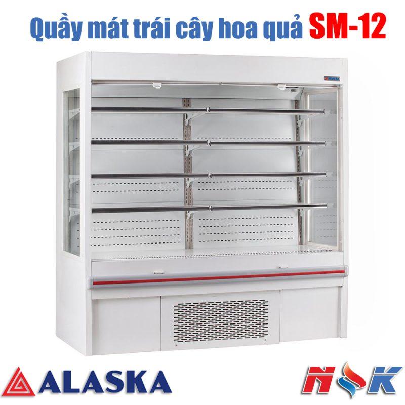 Quầy mát trưng bày siêu thị Alaska SM-12