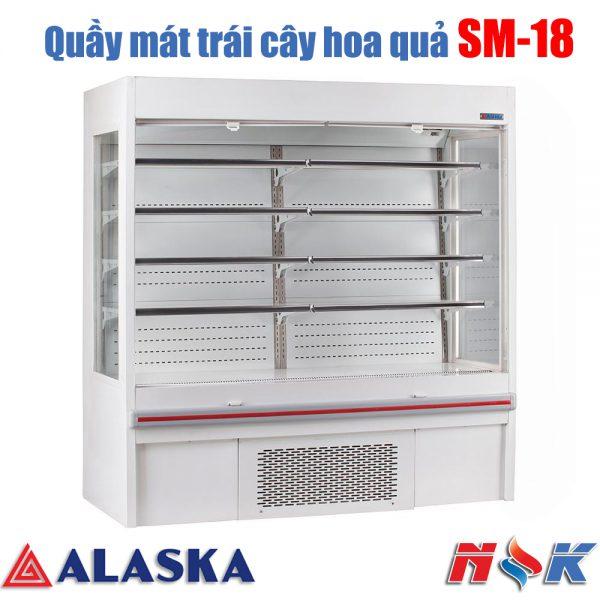 Quầy mát trưng bày siêu thị Alaska SM-18