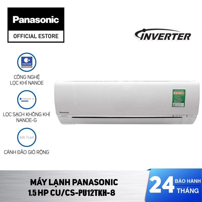 Máy lạnh Panasonic Inverter CU/CS-PU12TKH-8 1.5HP