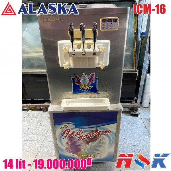 Máy làm kem tươi Alaska ICM-16