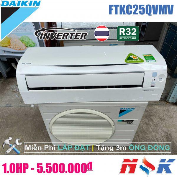 Máy lạnh Daikin Inverter FTKC25QVMV 1HP