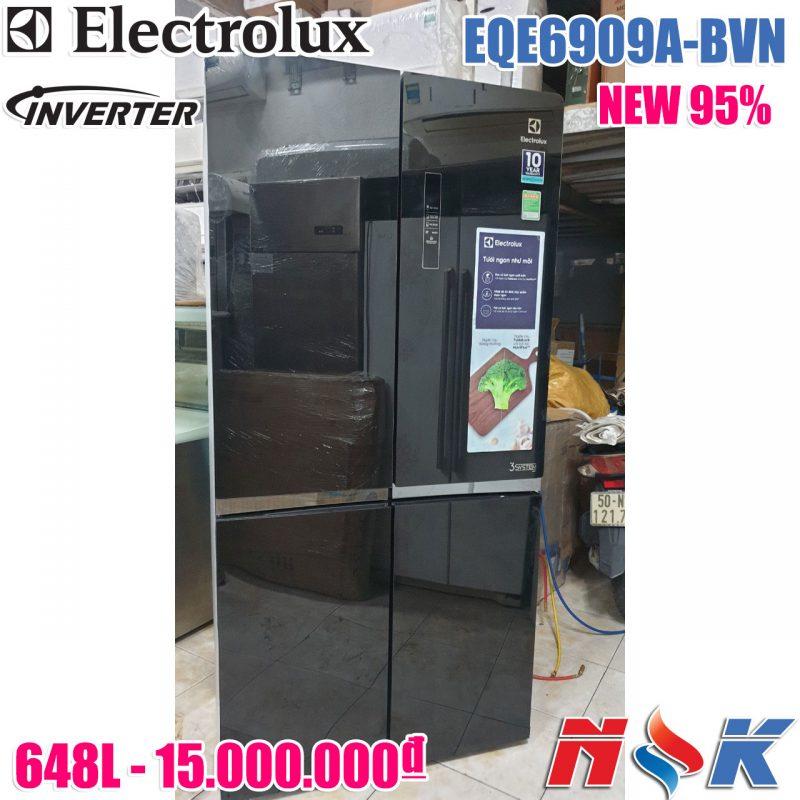 Tủ lạnh Electrolux Inverter EQE6909A-BVN 648 lít