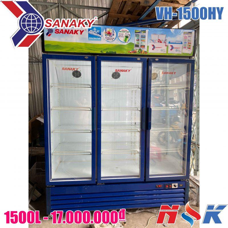 Tủ mát Sanaky VH-1500HY 1500 lít (3 cánh)