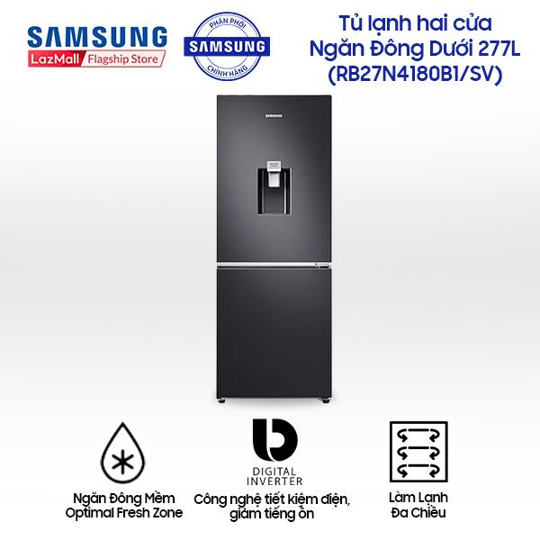 Tủ lạnh Samsung Inverter RB27N4180B1/SV 276 lít