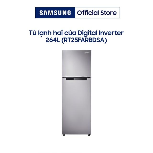 Tủ lạnh Samsung Inverter RT25FARBDSA 255 lít
