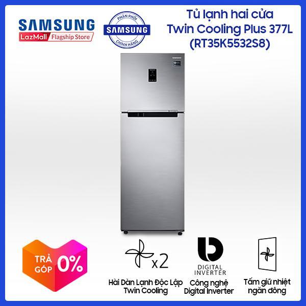 Tủ lạnh Samsung InverterRT35K5532S8/SV364 lít