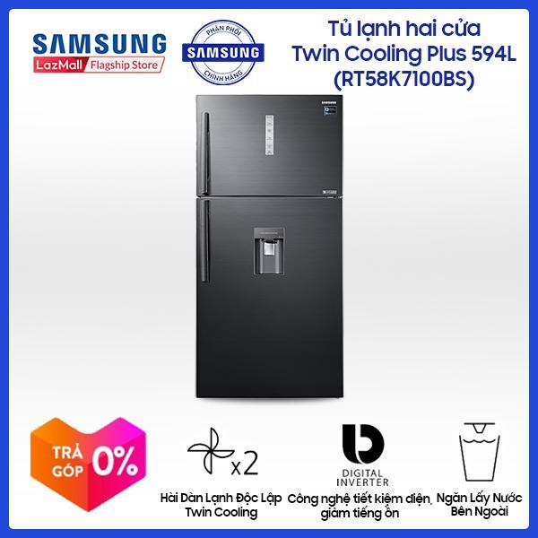 Tủ lạnh Samsung InverterRT58K7100BS/SV586 lít