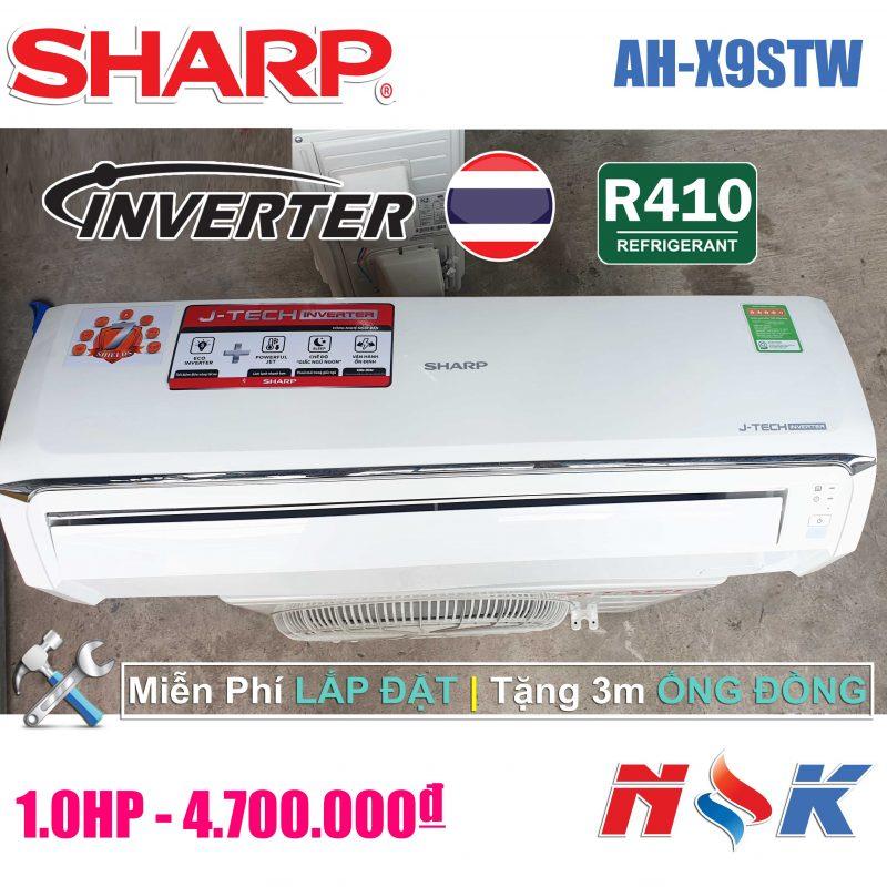 Máy lạnh Sharp Inverter AH-X9STW 1HP