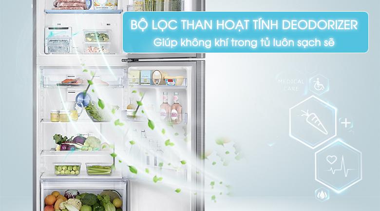 Bộ lọc than hoạt tính - Tủ lạnh Samsung Inverter 364 lít RT35K5532S8/SV