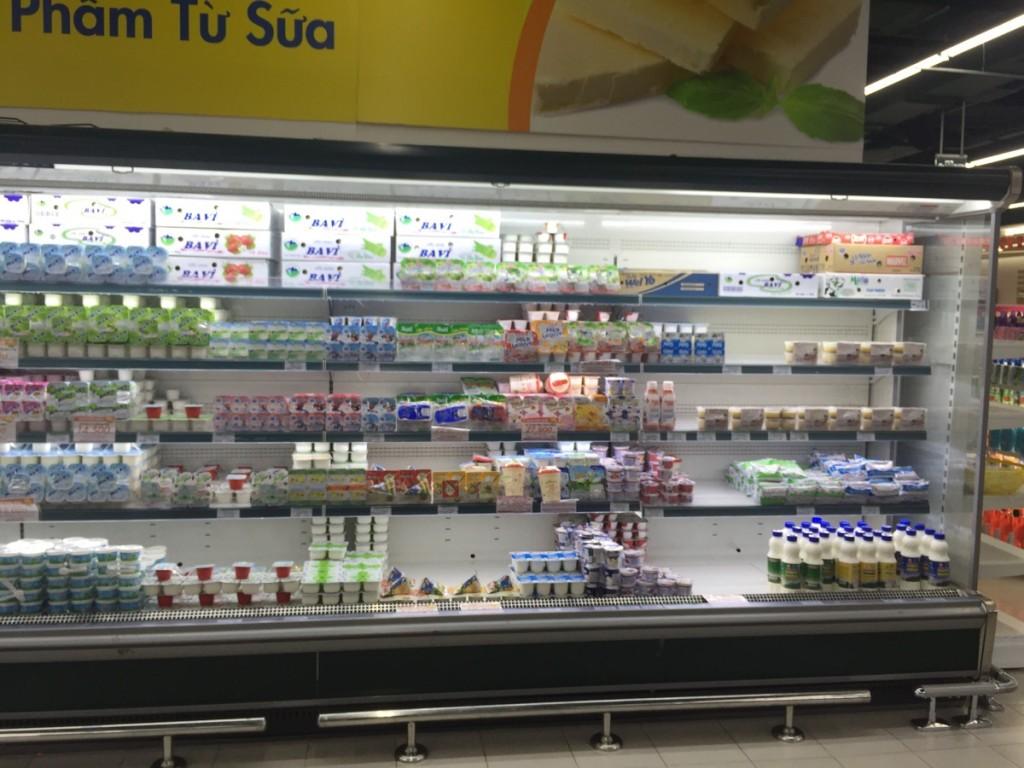 Thu mua tủ mát trưng bày siêu thị không cánh