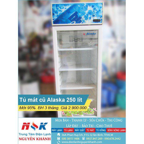 Tủ mát Alaska LC-34KD11 250 lít