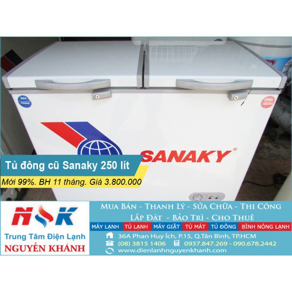 Tủ đông Sanaky VH-255W2 250 lít