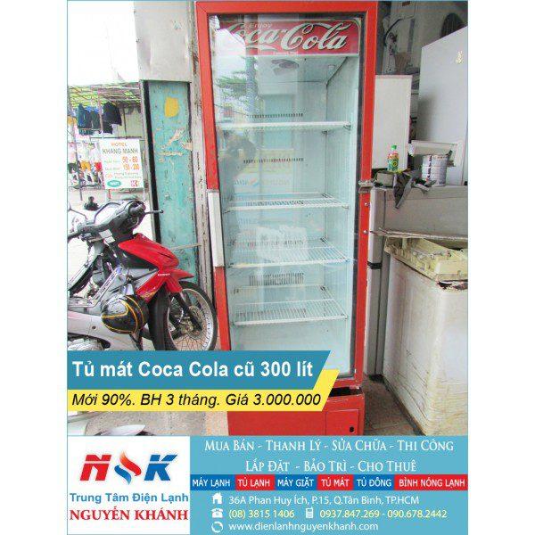Tủ mát Cocacola 300 lít
