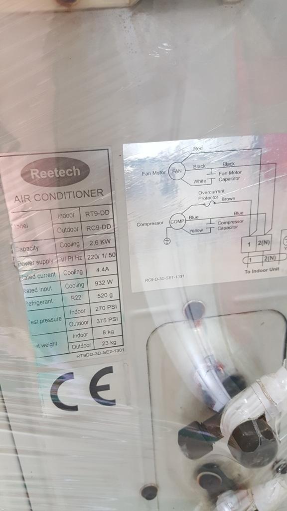 Máy lạnh Reetech RT9-DD