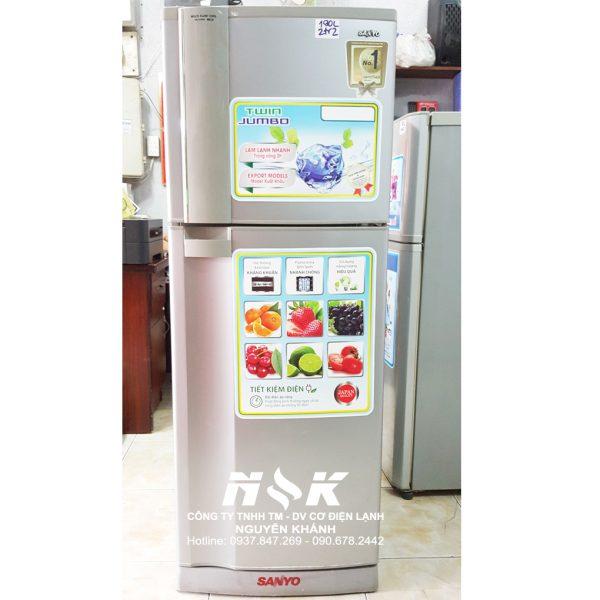 Tủ lạnh Sanyo SR-S19FN 186 lít