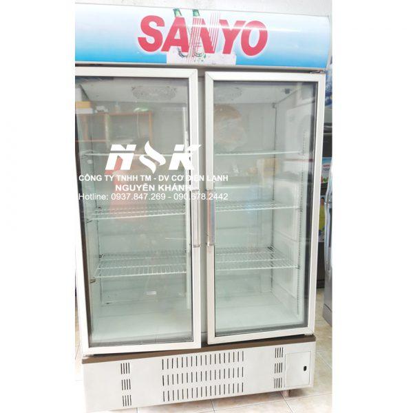 Tủ mát Sanyo 2 cánh 1000 lít