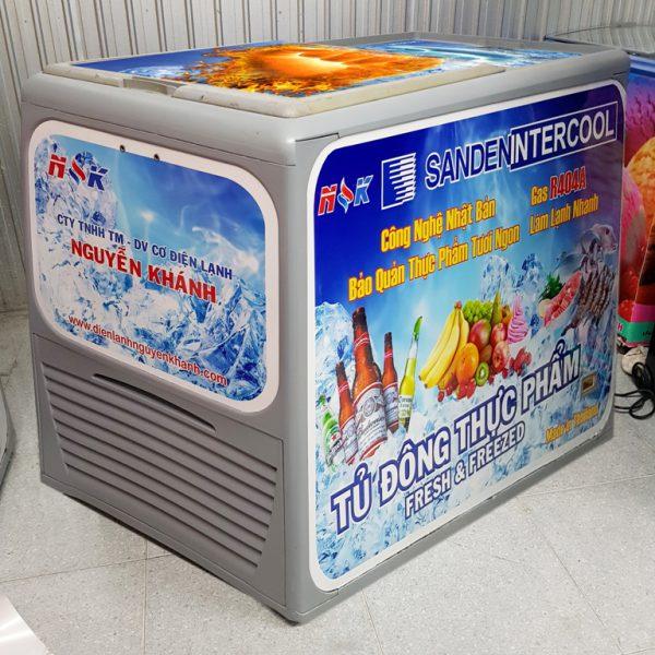 tủ đông thực phẩm thái lan 300 lít