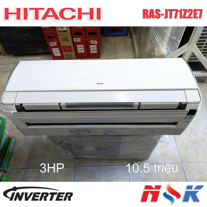 Máy lạnh Hitachi Inverter RAS-JT71Z2E7 3HP
