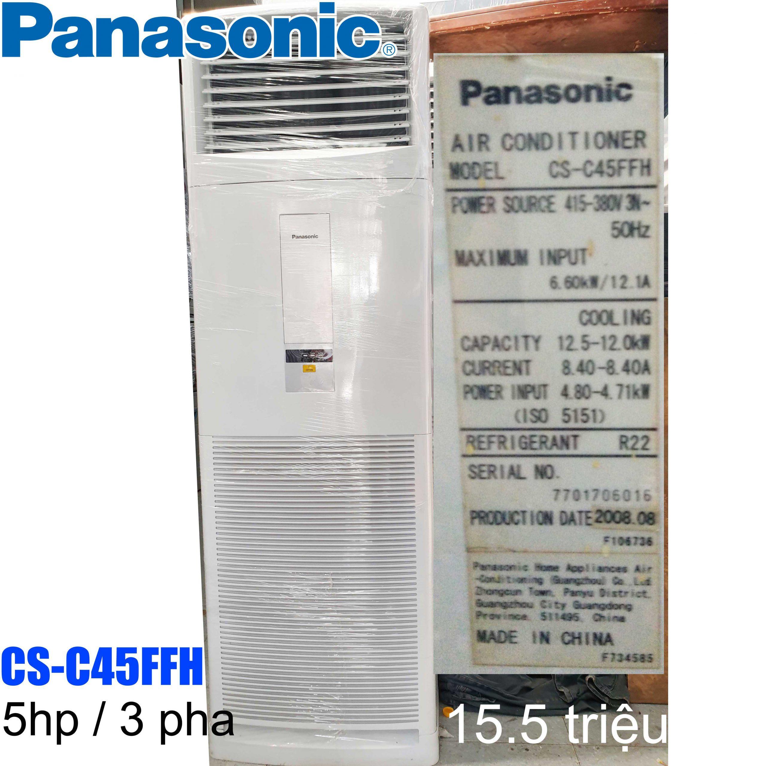 Máy lạnh tủ đứng Panasonic CS-C45FFH 5HP