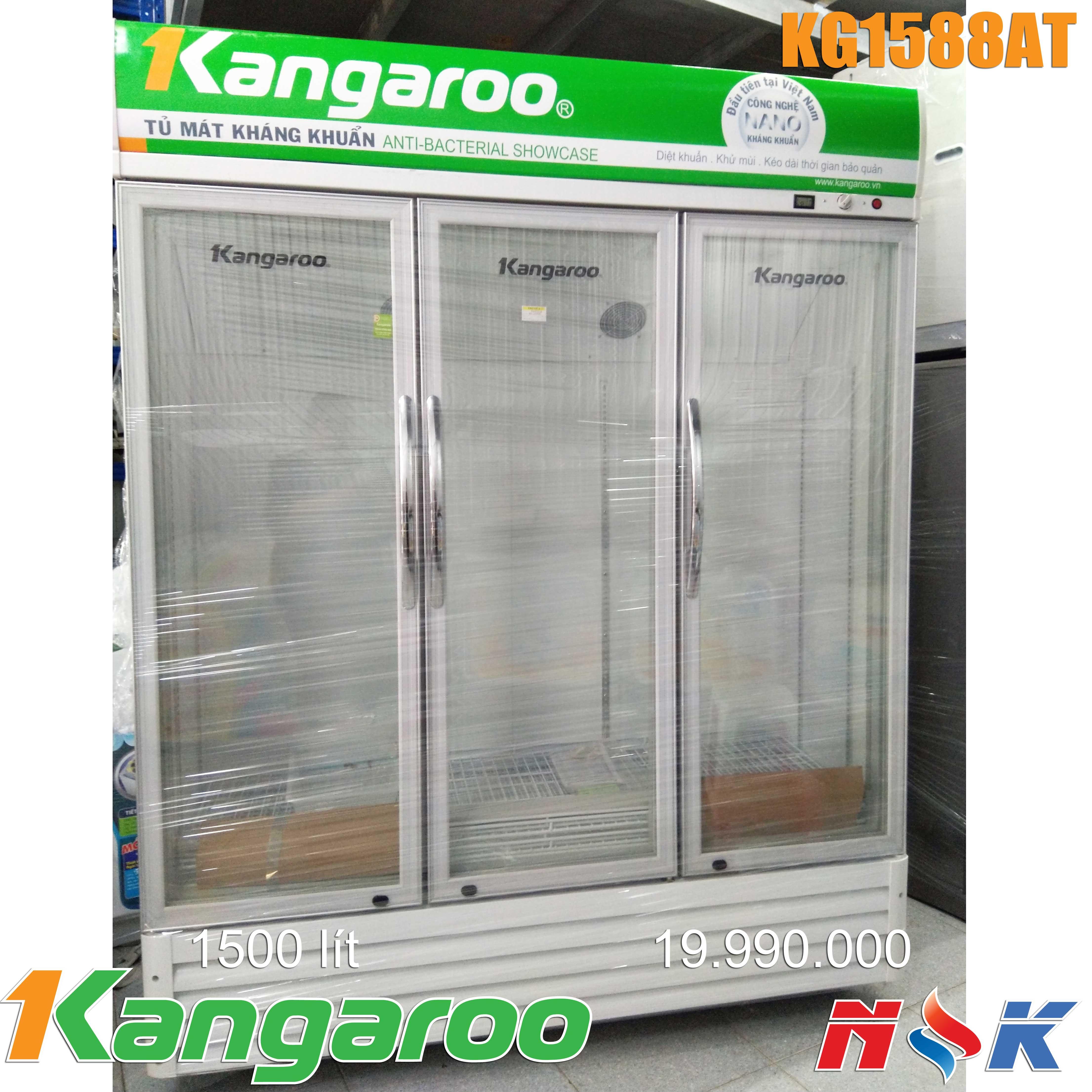 Tủ mát kháng khuẩn Kangaroo KG1588AT 1500 lít