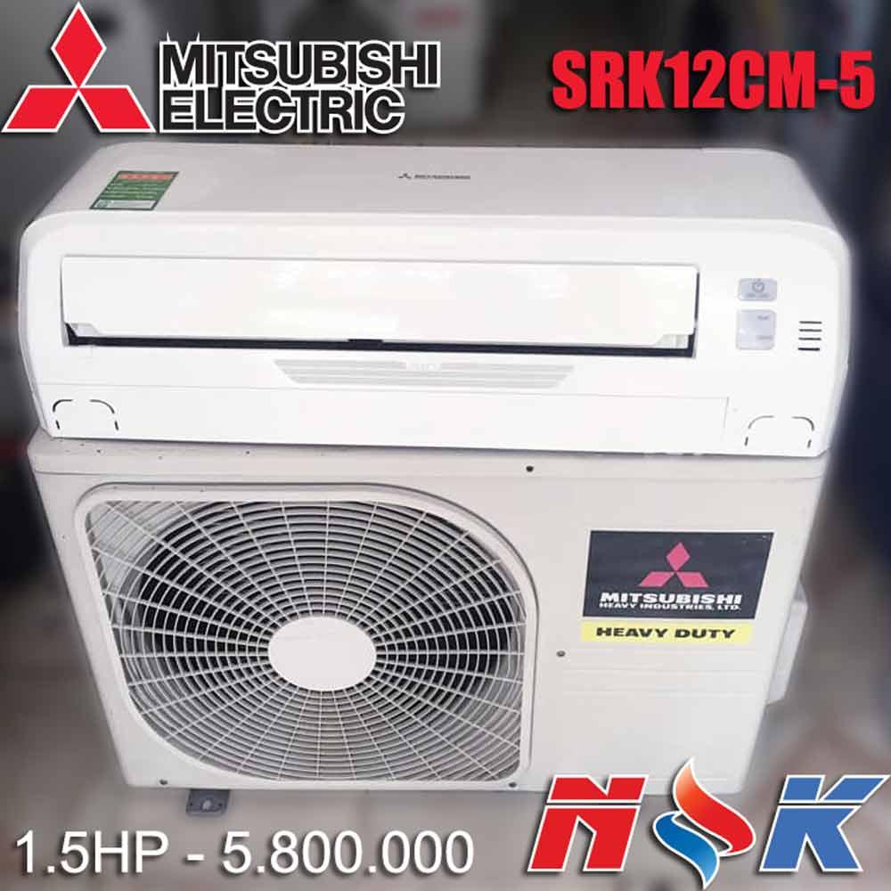 Máy lạnh Mitsubishi Heavy SRK12CM-5 1.5HP