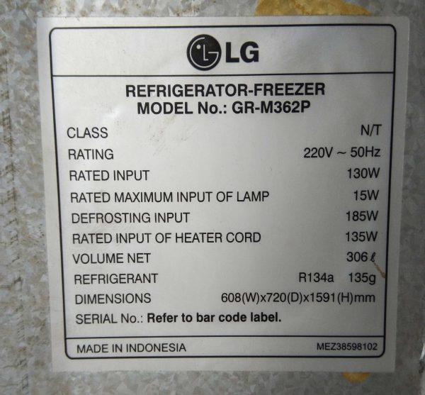 Tủ lạnh LG GR-M362P 306 lít