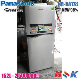 Tủ lạnh Panasonic Inverter NR-BA178PSVN 152 lít