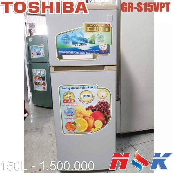 Tủ lạnh Toshiba GR-S15VPT 150 lít