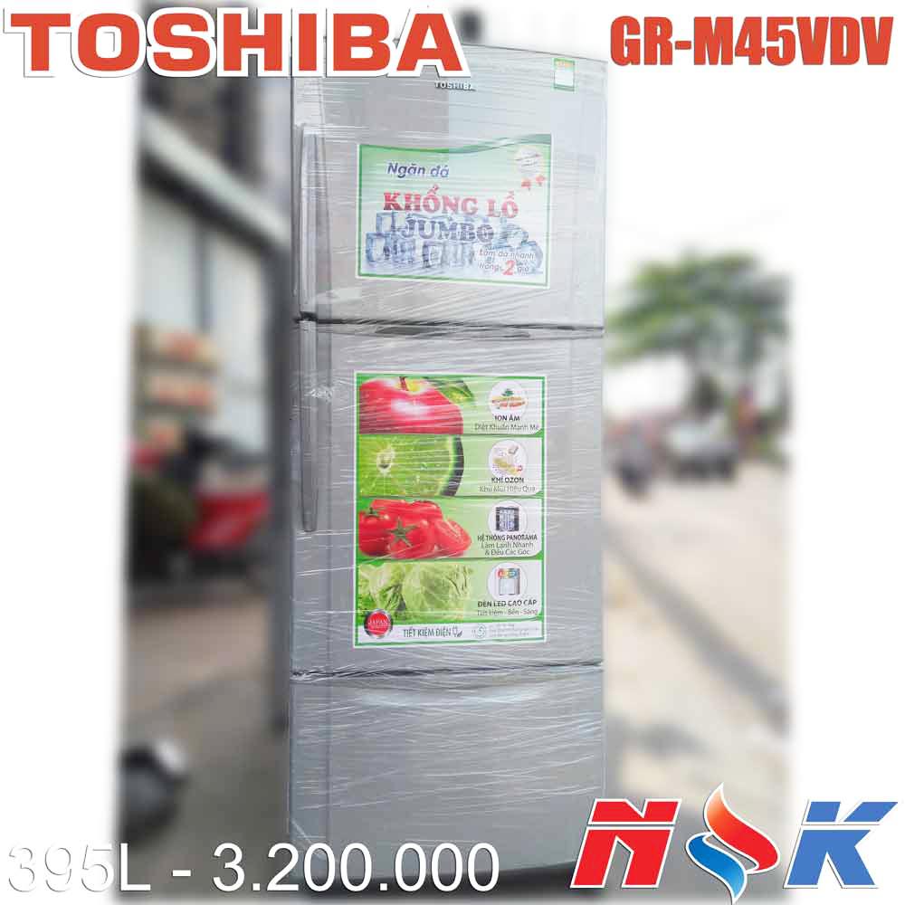 Tủ lạnh Toshiba GR-M45VDV 395 lít