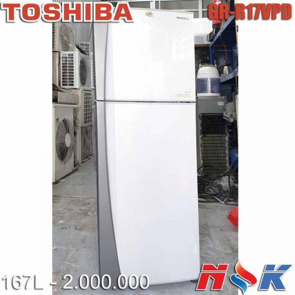 Tủ lạnh Toshiba GR-R17VPD 167 lít