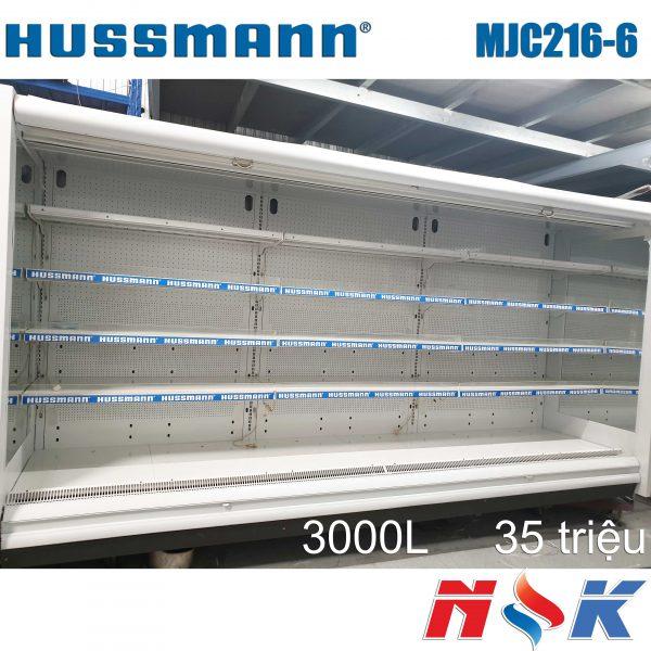 Tủ mát trưng bày siêu thị Hussmann MJC216-6 3000L