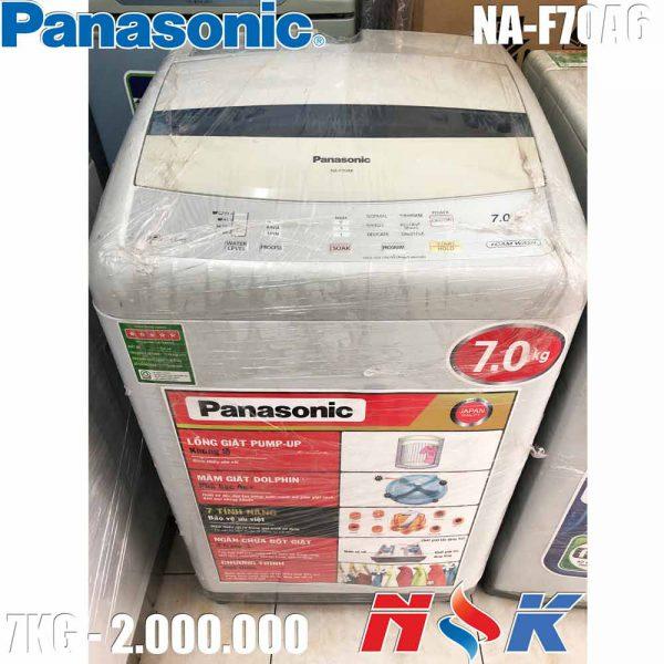 Máy giặt Panasonic NA-F70A6 7kg