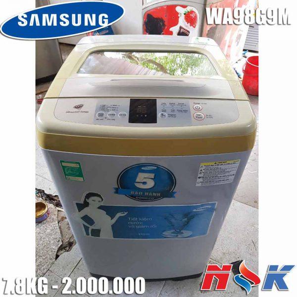 Máy giặt Samsung WA98G9M 7.8kg