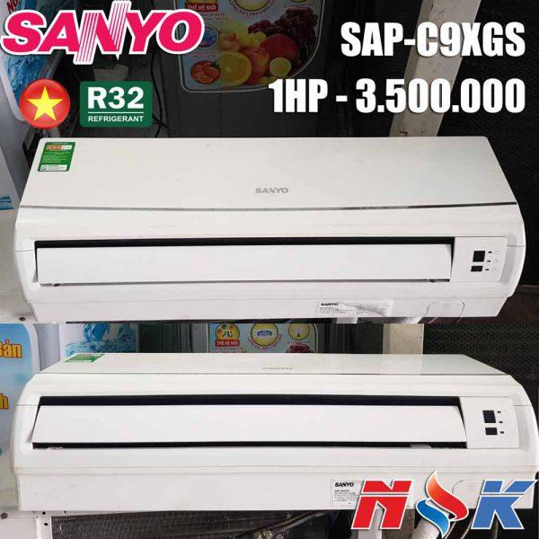 Máy lạnh Sanyo SAP-K9XGS 1HP