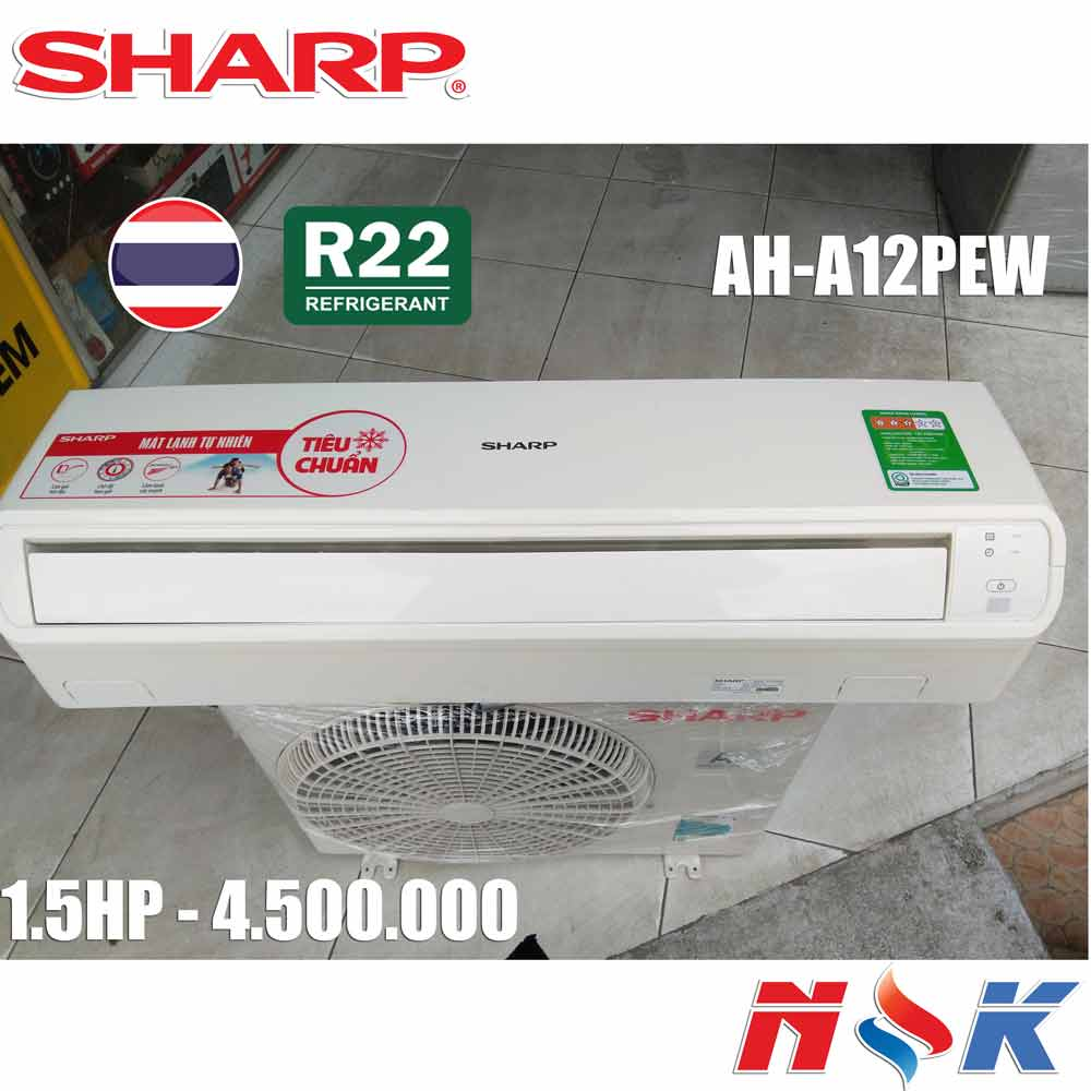 Máy lạnh Sharp AH-A12PEW 1.5HP