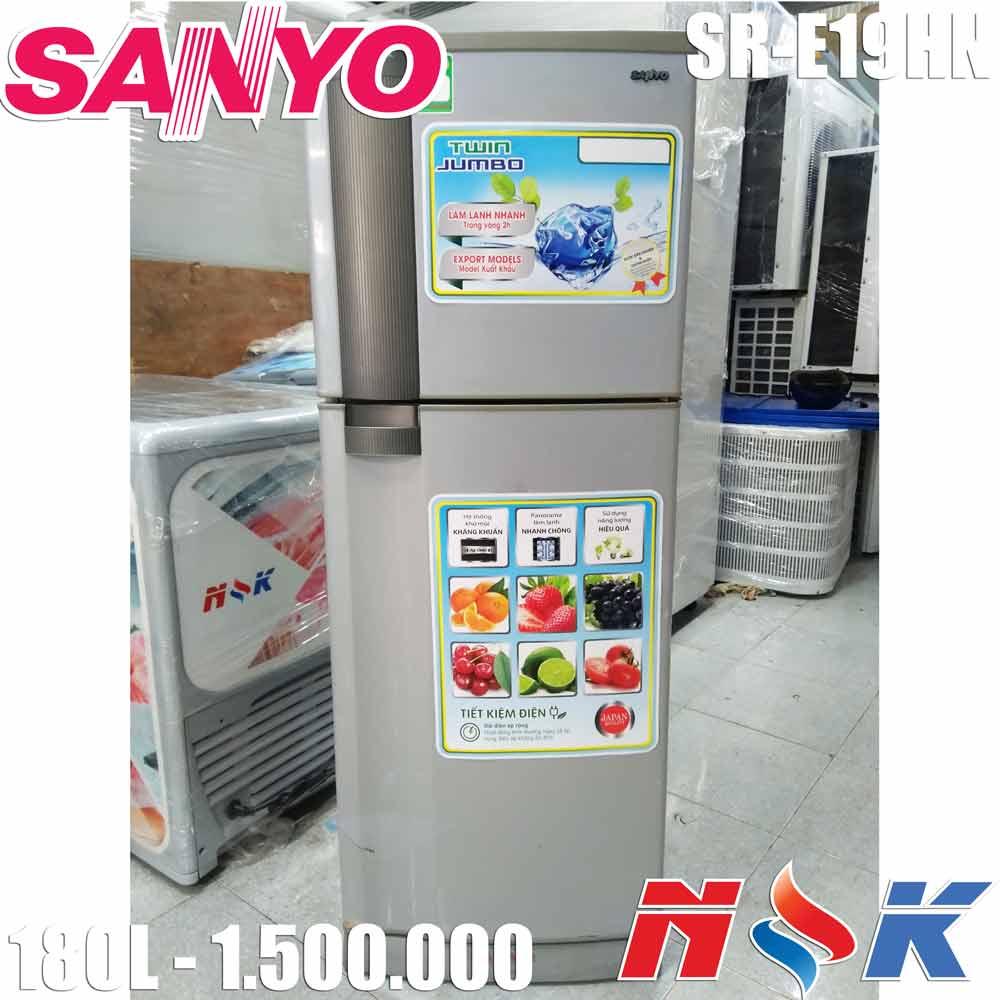 Tủ lạnh Sanyo SR-E19HN 180 lít