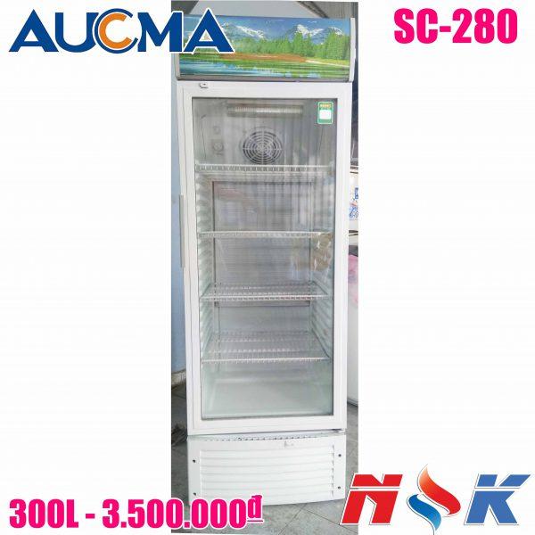 Tủ mát Aucma SC-280 300 lít