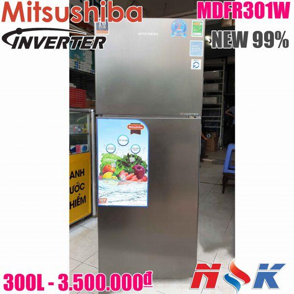 Tủ Lạnh Mitsushiba Inverter MDFR301W 300 lít