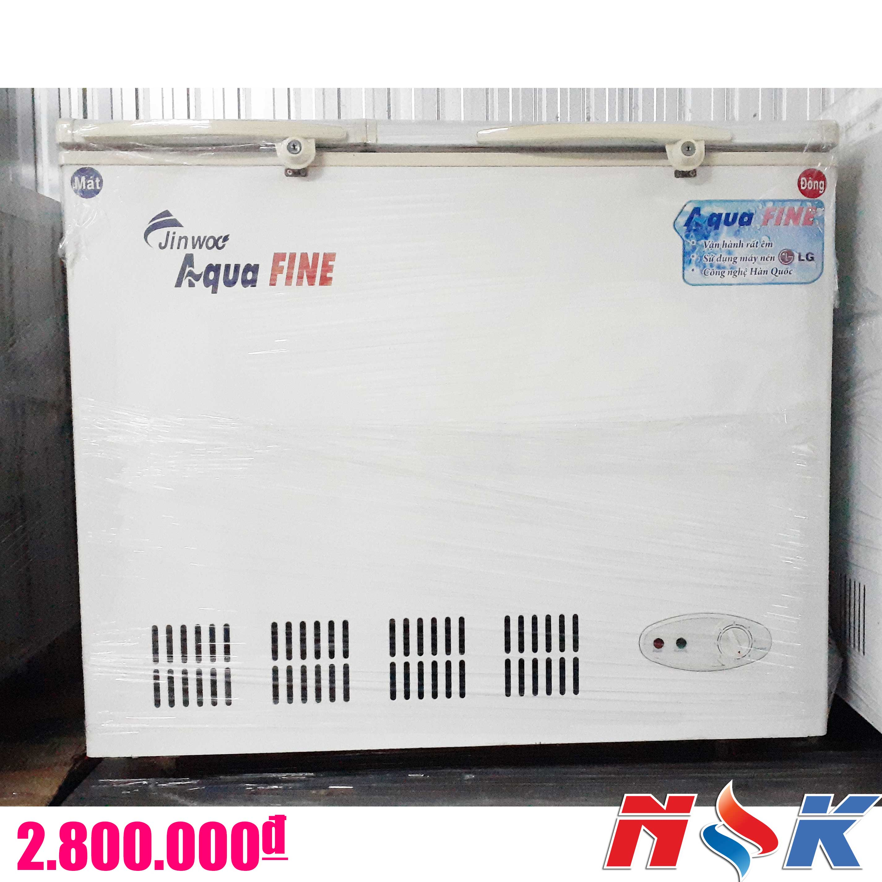 Tủ đông Aqua Fine JW-250FR 250 lít