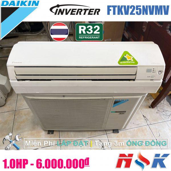 Máy lạnh Daikin Inverter FTKV25NVMV 1HP